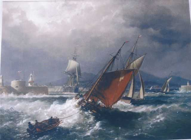 Kingstown by Richard Brydges Beechey