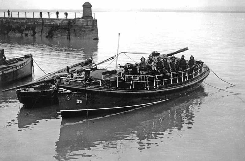 Mary Stanford after the Daunt rescue in 1936 (photo credit:RNLI)