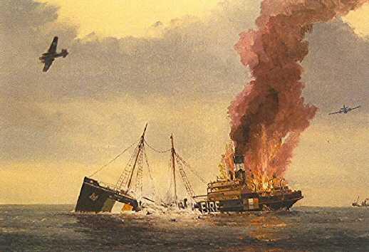 Sunk in Irish Sea, 22nd March 1941