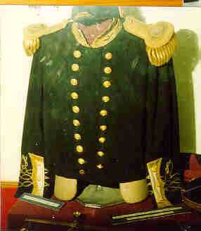 Capt. Halpin's Uniform