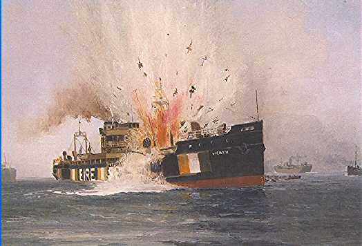 Mined and Sunk in Irish Sea - 16th August 1940 -  three wounded 