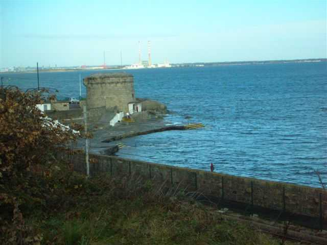 Martello tower at Seapoint