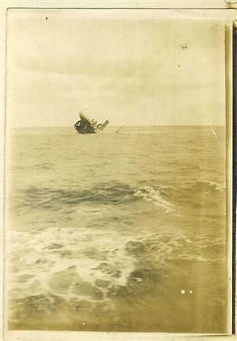 SS Malmanger sinking
