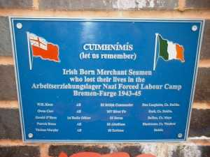 Irish MN POW Memorial Plaque 1