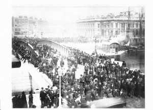 The Opening of Beresford Swing Bridge in 1879