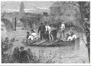 Historical diving - searching for the Invincibles knives Chapelizod 1886 - 20