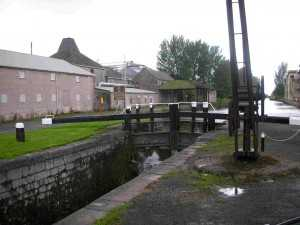 Athy maltings at canalside