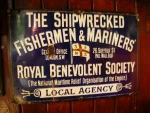 The Shipwrecked Fishermen & Mariners' Royal Benevolent Society