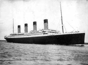 R.M.S. Titanic  Embarking on Fatal Maiden Voyage