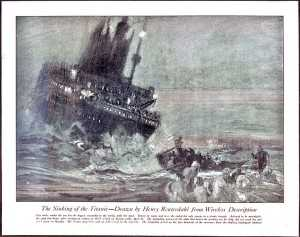 Reuterdahl - The Sinking of the Titanic