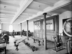 Gymnasium in First class