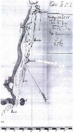 UC75 lays mines - Arklow July 1917