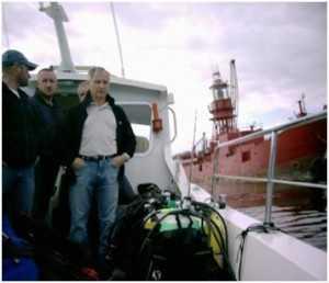 Marlin SA club divers.