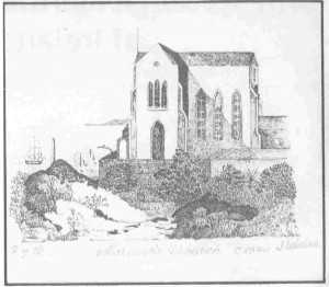 Mariners&#039; Church, circa 1840