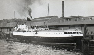 SS Lochgarry at Lancefield Quay Glasgow