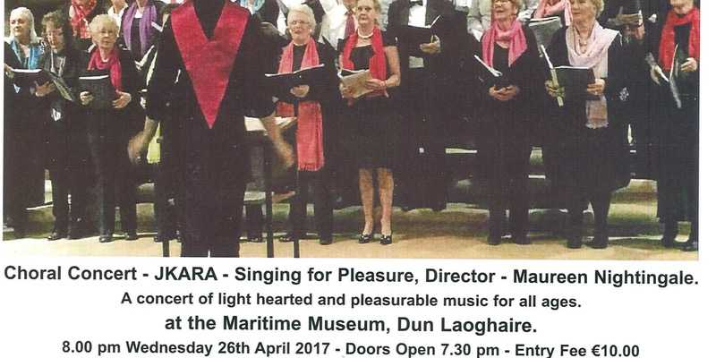 Singing for Pleasure a delightful Choral Concert
