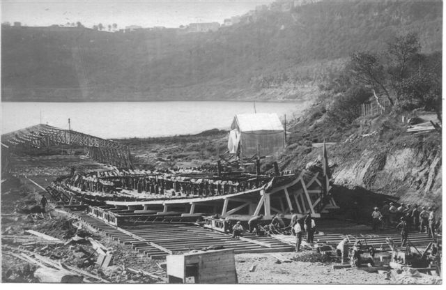 The second wreck on Lake Nemmi