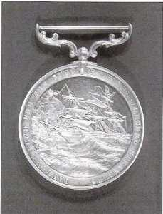 Medal for lifesaving commemorating Tayleur