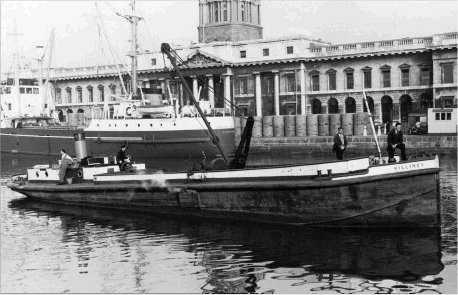 Recalling busy times at Dublin's Custom House Quay in days gone by